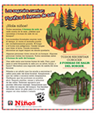 Actividad del Laberinto de Incendios Forestales