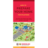 How to Prepare Your Home for Wildfires Brochure (English)