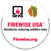 Firewise Static Cling Window Decals
