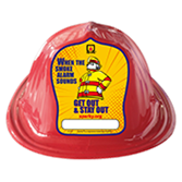 Fire Prevention Week Sparky the Fire Dog Hats - Red