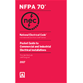 2017 NEC Pocket Guide to Commercial and Industrial Electrical Installations - Current Edition