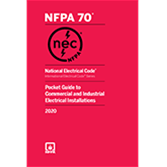 2020 NEC Pocket Guide to Commercial and Industrial Electrical Installations - Current Edition