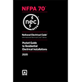 2020 NEC Pocket Guide to Residential Electrical Installations - Current Edition