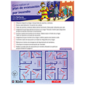 Fire Escape Planning Activity Pad - Spanish Edition