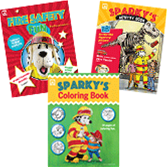 Sparky's Coloring & Activity Books Value Pack