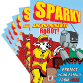 Sparky and the Runaway Robot! Comic Books