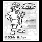 Take Along Sparky Pad
