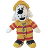 New 2020 Sparky the Fire Dog Stuffed Toy