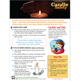 Candle Safety Tip Sheets