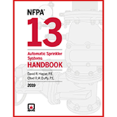 2019 NFPA 13 Handbook - Current Edition