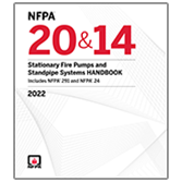2022 Stationary Fire Pumps and Standpipe Systems Handbook - Current Edition