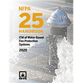 2020 NFPA 25 Handbook - Current Edition