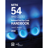 2018 NFPA 54 Code Handbook - Current Edition