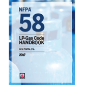 2017 NFPA 58 Handbook - Current Edition