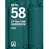 2020 NFPA 58 Handbook - Current Edition