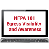 NFPA 101®: Life Safety Code® Essentials: Egress Signage and Visibility Online Training