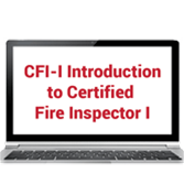 Introduction to Certified Fire Inspector I Online Training