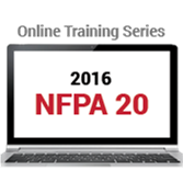 NFPA 20 (2016) Online Training