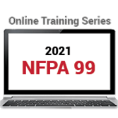 2021 NFPA 99 Online Training Series