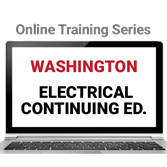 Washington Electrical Continuing Education Online Training