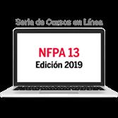 Serie de cursos en línea de NFPA 13, Norma para la Instalación de Sistemas de Rociadores (2019)