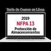 Serie de cursos en línea de evaluación y requisitos de protección de almacenamientos de NFPA 13 (201