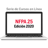 Serie de Cursos en Línea de NFPA 25, Inspección, Prueba y Mantenimiento de Sistemas de Protección co