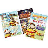 Sparky's ABCs of Fire Safety Comic Books
