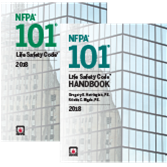2018 NFPA 101: Life Safety Code and Handbook Set