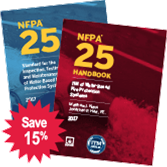 NFPA 25: Standard and Handbook Set, 2017 Edition