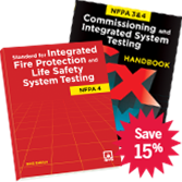 NFPA 4 and the Commissioning and Integrated System Testing Handbook Set, 2015 Edition