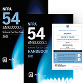 2021 NFPA 54 Code and Handbook Set - Current Edition