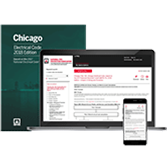 NFPA 70: National Electric Code with Chicago Amendments - Subscription and Print Set