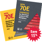 NFPA 70E: Standard and Handbook Set, 2018 Edition