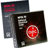 2020 NFPA 70, NEC Looseleaf and Handbook Set - Current Edition