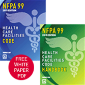 2015 NFPA 99 and Handbook Set with Free White Paper