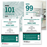 NFPA 101 (2021) and NFPA 99 (2021) Codes and Tabs Toolkit