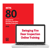 NFPA 80 (2016) Swinging Fire Door Inspection Toolkit