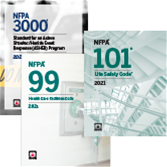 NFPA 99 and NFPA 101 Codes and NFPA 3000 Toolkit - 2021 Current Edition