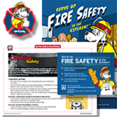 Home Fire Prevention Kids and Young Adult Set