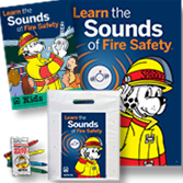 Fire Prevention Packs for Schools Set