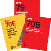 2015 NFPA 79, 2016 NFPA 70B and 2018 NFPA 70E Set