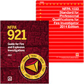 2017 NFPA 921 and 2014 NFPA 1033 Fire Investigations Set