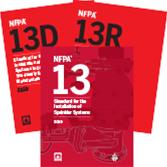 NFPA 13, NFPA 13D, and NFPA 13R (2019) Set
