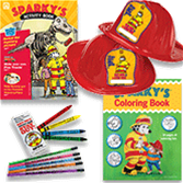 Sparky the Fire Dog Kids' Prevention Pack