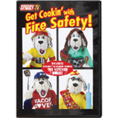 Sparky's Get Cookin' with Fire Safety Video