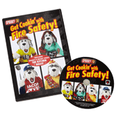 Sparky's Get Cookin' with Fire Safety DVD